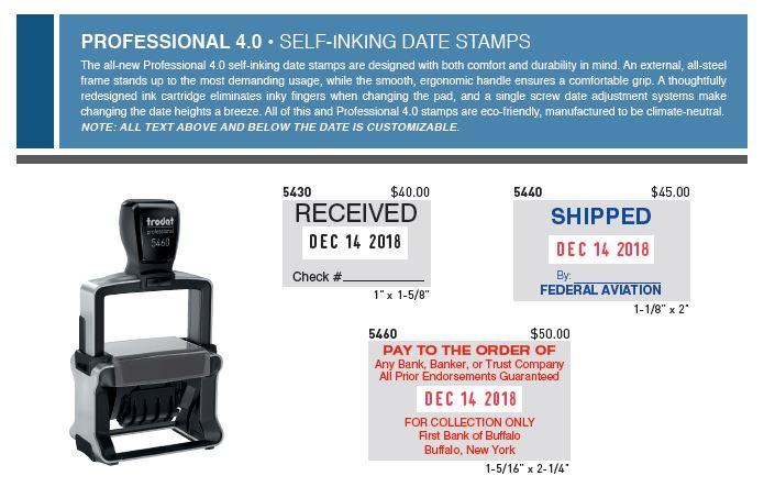 Custom Date Stamps Burlington WI
